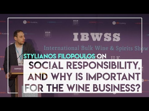 Stylianos Filopoulos on Social Responsibility, why is important for the wine business?