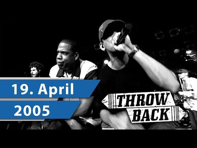 SO hörten sich die Charts am 19.04.2005 an l Throwback Thursday