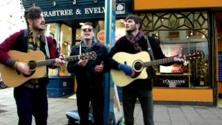 Hudson Taylor Busking In Brighton - Pray for the Day