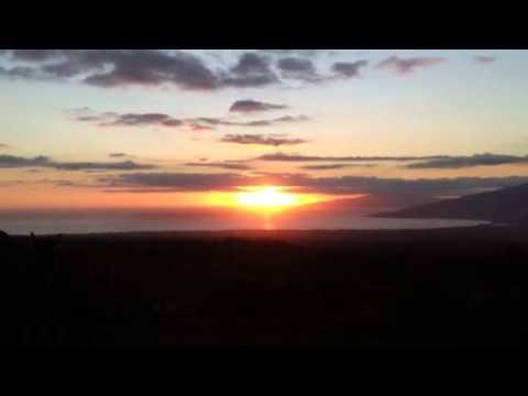 Muy padre la vista desde kula hawaii