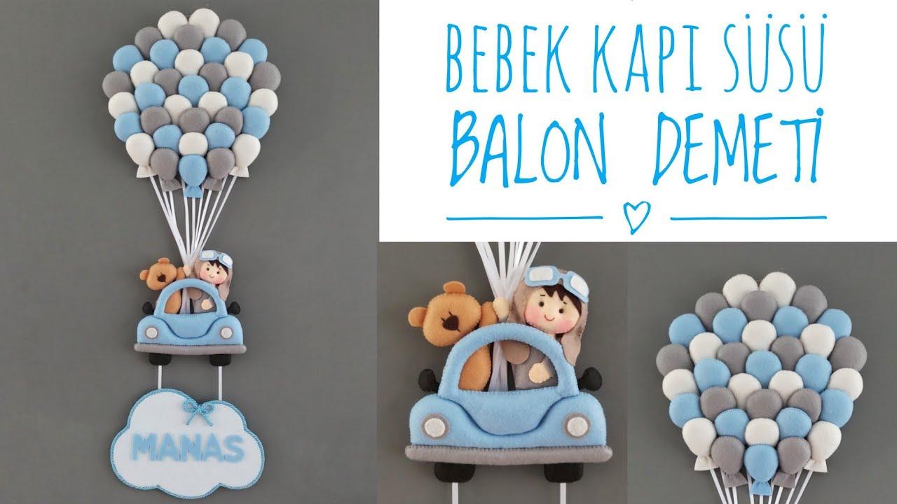 Keçeden  Bebek Odası Kapı Süsü Yapımı | Çocuk Odası  Kapı Süsü | DIY Baby Room Decoration