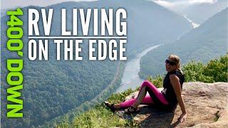 New River Gorge, Węst Virginia // Full Time RV Family // Family Travel Vlog