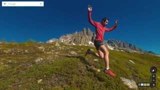 Mont Blanc Street View: Kilian Jornet