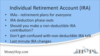 Individual Retirement Account (IRA)