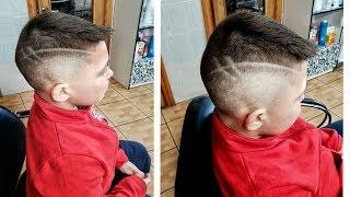 Modern Haircut for Little Boys Современная стрижка для мальчика.