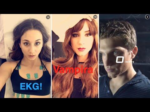 Troian Bellisario | Snapchat Videos Compilation (September 2015) (Funny Moments)
