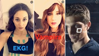 Troian Bellisario | Snapchat Videos Compilation (September 2015) (Funny Moments)
