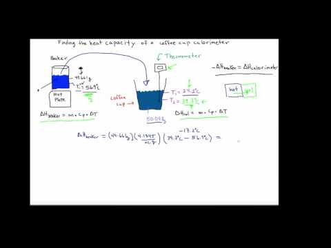 how to calcutlate enthalpy change