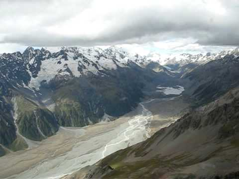 Helicopter ride - Aoraki / Mount Cook, New Zealand