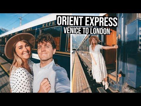 Venice Simplon Orient Express Full Experience Luxurious Train | Venice to London