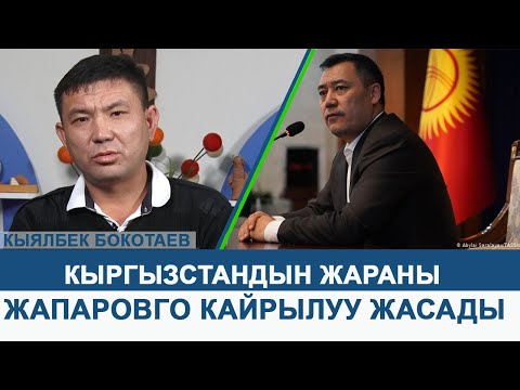 Кыргызстандын жараны Кыялбек Бокотаев Садыр Жапаровго Кайрылуу жасады