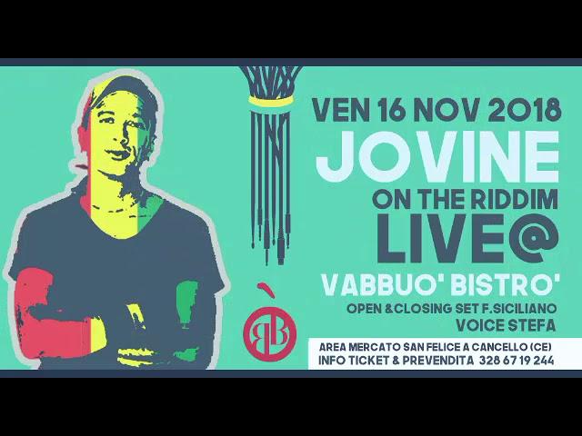 Promo Jovine Live - Vabbuó Bistrò
