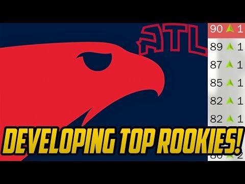 DEVELOPING THE YOUTH! Atlanta Hawks Rebuild! NBA 2K18