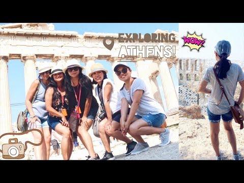 Travel Vlog: Touring around Athens