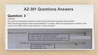 AZ-301 Exam Questions PDF + Practice Test