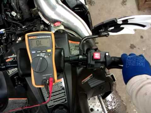 Polaris 800 CFI faulty TPS sensor  YouTube
