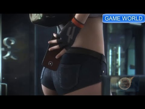 Super-Hot Sexy game cinematic trailer of all time # series 1 hota diva edition badass girl gamer!