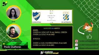 Norrköping vs IFK Göteborg ao Vivo -  Acompanhamento