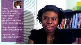 Lashanda Henry - SistaSense is on youtube!