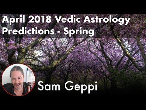 April 2018 Vedic Astrology Predictions