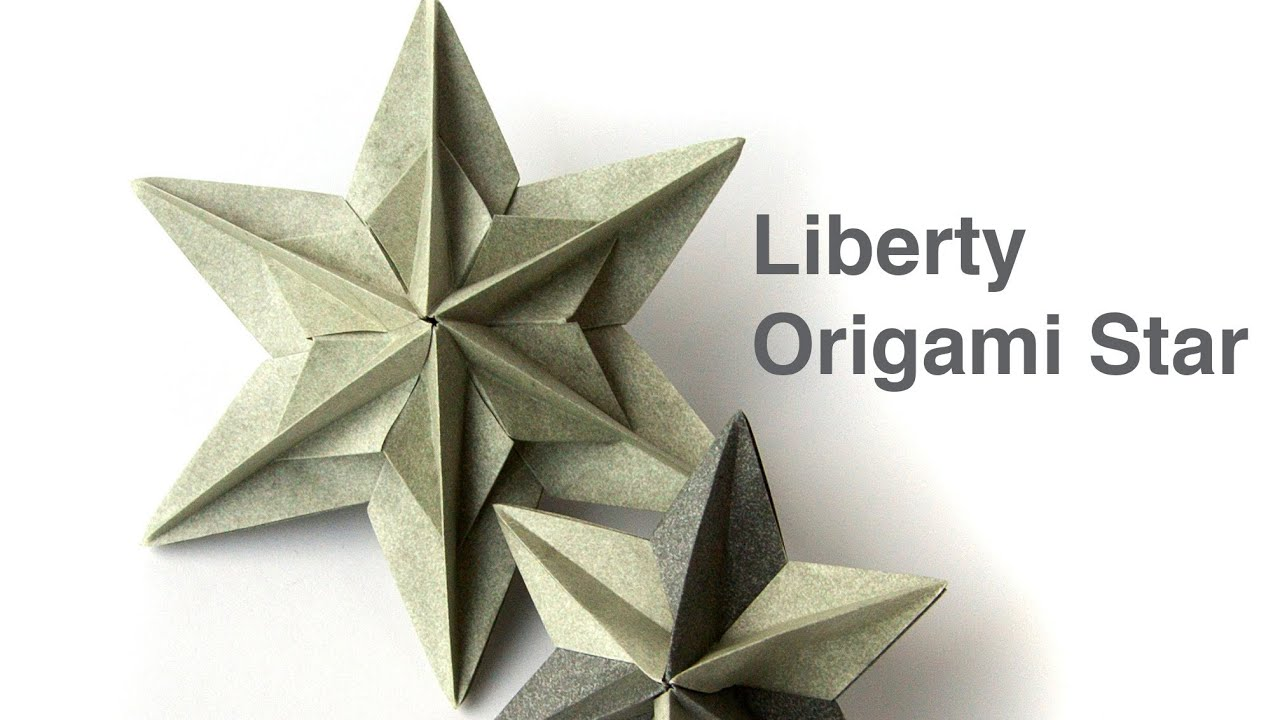 The gallery for --> How To Make 3d Origami Stars - photo#13