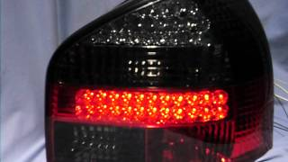 led rckleuchten audi a3 8l 96 04 red smoke by sw tuning