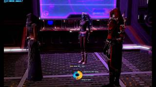 SWTor Sith Warrior choosing romance Companion: Vette - A serious look