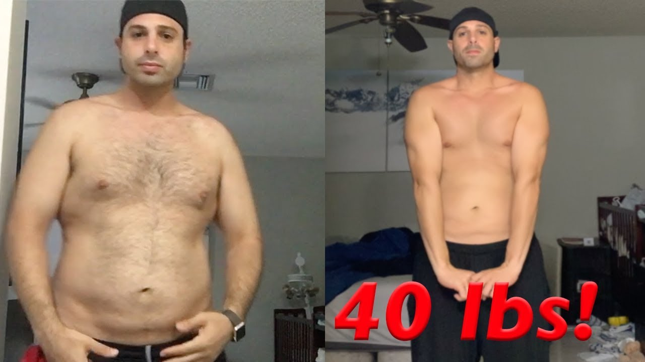 2 month weight loss before and after