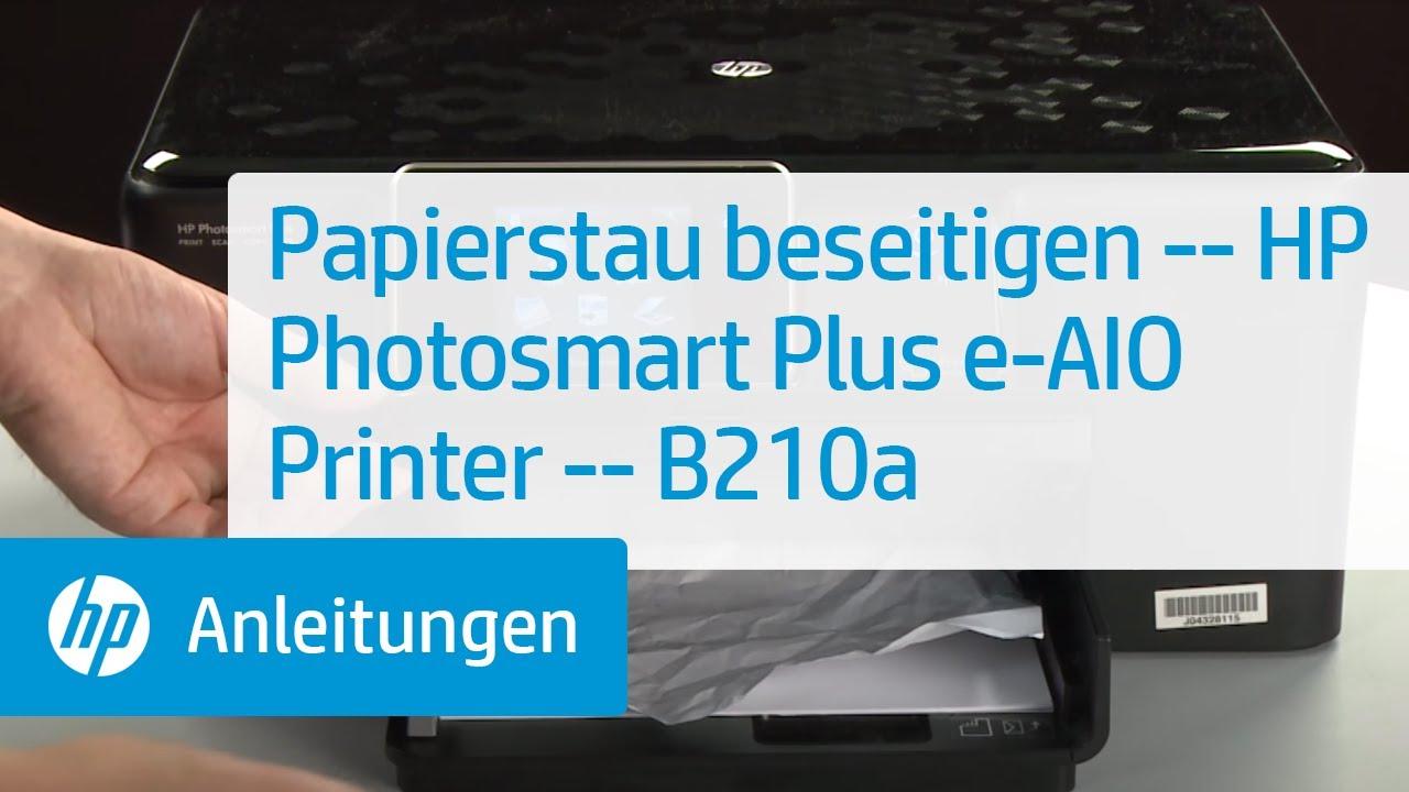 Papierstau Beseitigen Hp Photosmart Plus E All In One