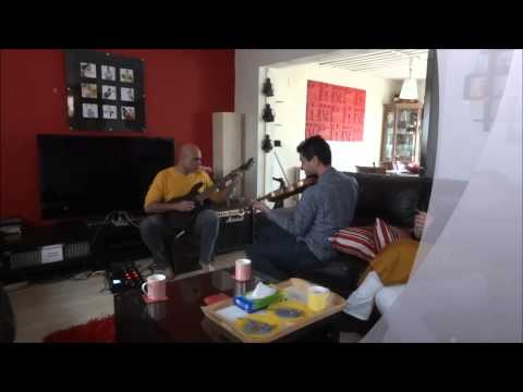 Aritra (Violin) - Rajesh (Gitars) Jam - One World