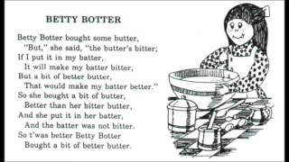 Betty Botter Full Band Rock Version