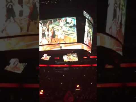Raptors vs. Pistons Introductions (1/30/16)