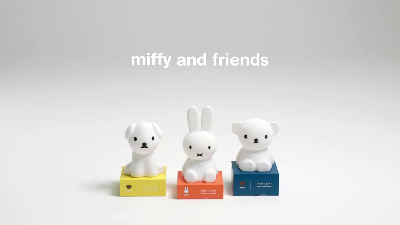 Lampe Veilleuse Lapin Miffy mr maria first light nightlights miffy and friends instruction video