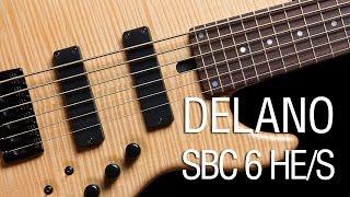 Delano SBC 6 HE/S Pickups