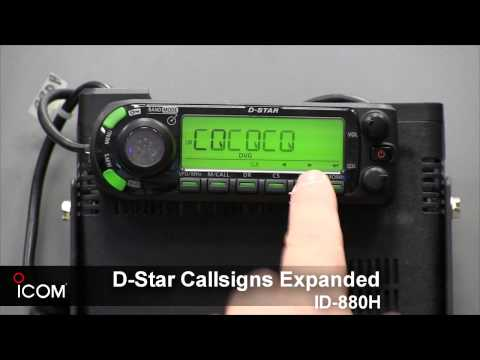 D Star Callsigns Expanded