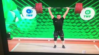 Simon Martirosyan world champion in Ashgabad 2018