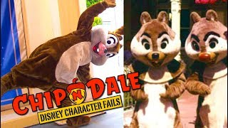 Evolution of Chip and Dale- Top 10 Disney Fails, Falls & Character History