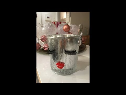 diy last minute geschenk glas mit wimpern muttertag weihnachten youtube. Black Bedroom Furniture Sets. Home Design Ideas