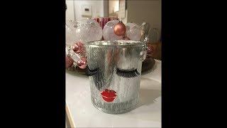 DIY: Last Minute Geschenk Glas mit Wimpern / Muttertag / Weihnachten