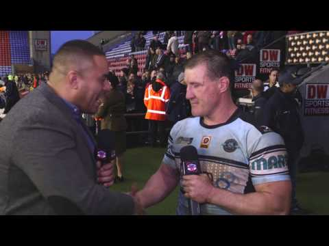 Paul Gallen would love to play in Super League
