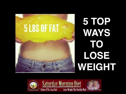 5 Top Ways To Lose Weight