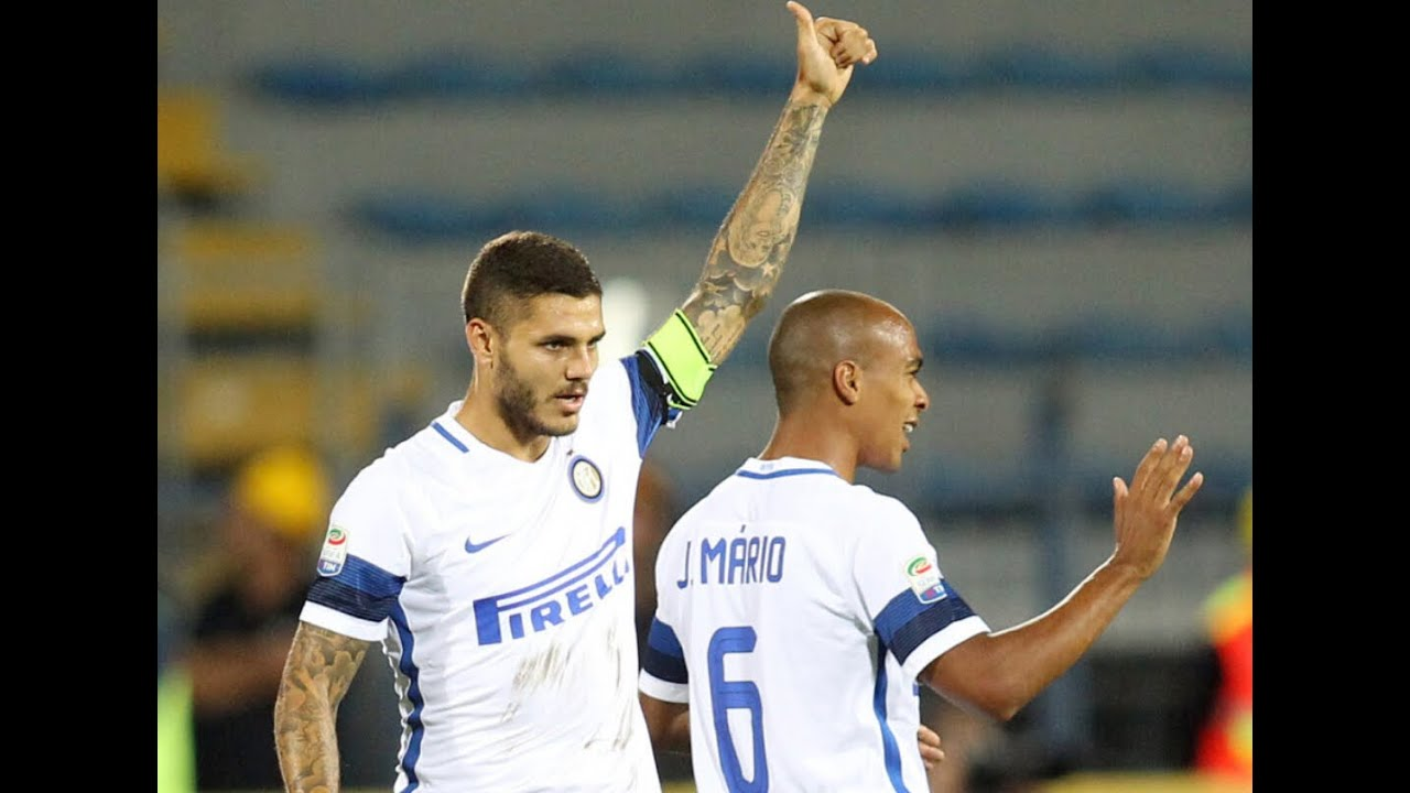 Mauro Icardi And Jo£o Mário vs Empoli(21 09 2016)16 17 HD 720p