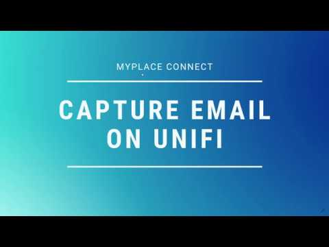 How to Capture Email on UniFi - WiFi Marketing with UniFi