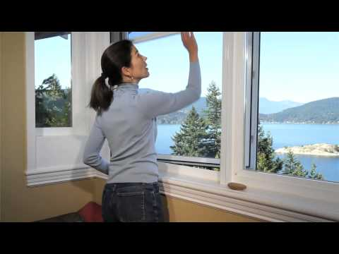 Phantom Serene Retractable Window Screens
