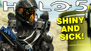 Halo 5 - The New CLASSIC Helmets Are So SICK! - Classic Helmets Pack