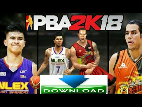 PBA 2k18 download tutorial