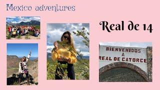 TRAVEL VLOG| Real de 14 , San Luis Potosi