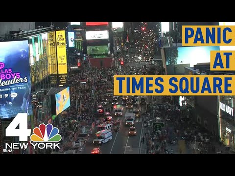 The Jim Colbert Show - Hundreds at Times Square Ran for Their Lives After Bike Backfires