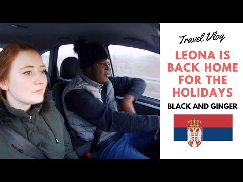Leona Is Back To Serbia Travel Vlog {Merry Christmas} - Black And Ginger