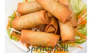 Spring Roll  Veg Roll  Spring Roll recipe in tamil  Veg roll recipe in tamil